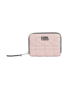 K/Kuilted Small Zip Wallet by Karl Lagerfeld
