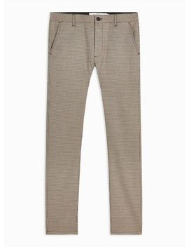 Heritage Check Stretch Skinny Pants by Topman