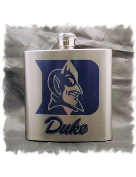 Duke University Blue Devils 7 Ounce Stainless Steel Flask by Ebay Seller