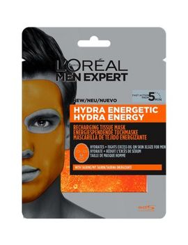 L'oreal Paris Men Expert Hydra Energetic Tissue Mask 30g by L'oreal Men