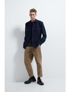 Denim Thermolite® Overshirt by Zara