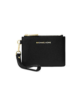 Small Money Pieces Leather Coin Purse by Michael Michael Kors