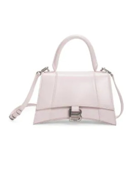 Extra Small Hourglass Leather Top Handle Bag by Balenciaga