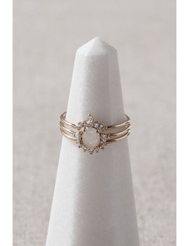 Saffron Stacking Rings by Tai