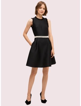 Pearl Crystal Mikado Dress by Kate Spade