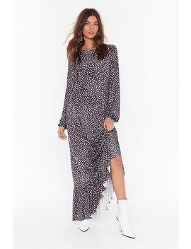 You Dot Lucky Relaxed Maxi Dress by Nasty Gal