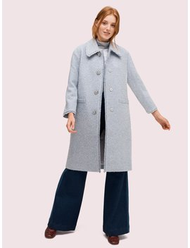 Tinsel Tweed Coat by Kate Spade