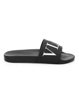 Valentino Garavani Vltn Rubber Sandals by Valentino
