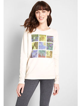 A Work Of Art Graphic Sweatshirt by Modcloth