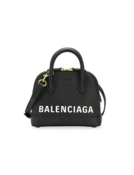 Extra Extra Small Ville Top Handle Leather Bag by Balenciaga