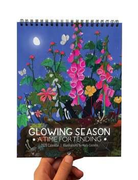 Glowing Season 2020 Calendar by Etsy