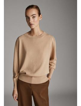 Mit AbnÄher An Der Schulter   Sweatshirt by Massimo Dutti
