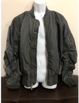 Fear Of God Fog Collection Pacsun Bomber Jacket Olive Dark Grey L by Fear Of God