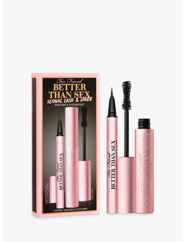 Too Faced Better Than Sex Iconic Lash & Liner Makeup Gift Set by Too Faced