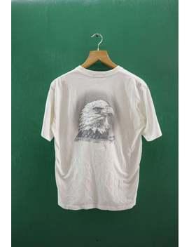 Jahrgang Mcm Legere Mode Schöpfung München Shirt Große Logo Adler Streetwear Top T Shirt Urban Fashion Mcm T Shirt Größe M by Etsy