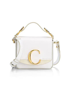 Mini Chloé C Leather Crossbody Bag by Chloé
