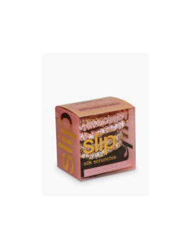 Slip® Pure Silk Skinnie Scrunchies, Pink, Caramel, Black by Slip®
