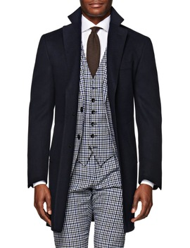 Vicenza Unconstructed Wool Overcoat by Suitsupply
