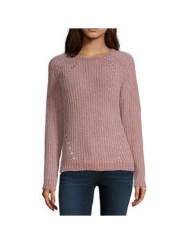 Artesia Womens Crew Neck Long Sleeve Pullover Sweater by Artesia