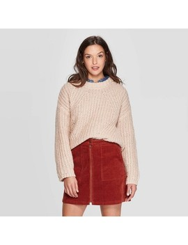 Women's Crewneck Chunky Pullover Sweater   Universal Thread™ by Universal Thread