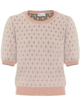 Angora Blend Sweater by Red Valentino