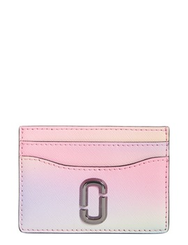 The Snapshot Airbrush Saffiano Leather Card Case by The Marc Jacobs