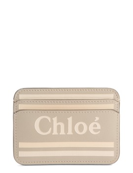 Vick Logo Leather Card Holder by ChloÉ