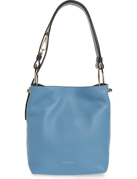 Midi Lana Tricolor Leather Bucket Bag by Strathberry