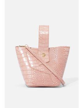 Croc Bucket Bag by Justfab