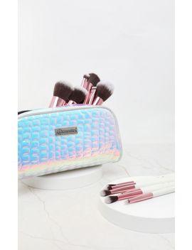 Bh Cosmetics Crystal Quartz 12 Piece Brush Set With Bag by Prettylittlething