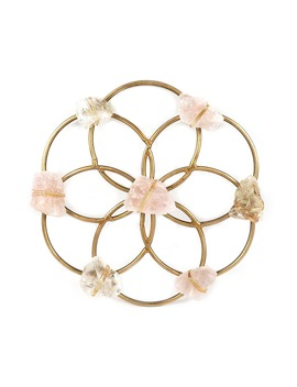 Small Flower Crystal Grid by Ariana Ost