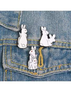Rabbit Pins (Set/3 Pcs) by Dog Dog