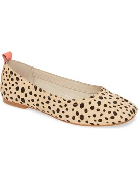 Ozzie Genuine Calf Hair Flat by Dolce Vita