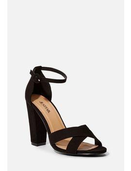 Olivia Block Heeled Sandal by Justfab