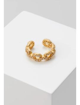 Pave Chain Ear Cuff   Kolczyki by Orelia