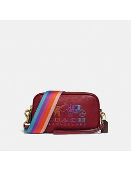 Sadie Crossbody Clutch With Rexy And Carriage by Coach