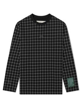 A Cold Wall* Long Sleeve Grid Tee by A Cold Wall*