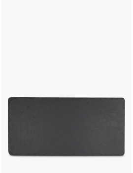 The Just Slate Company Table Runner, Black by The Just Slate Company