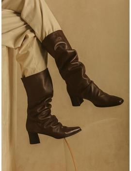 Yakko Boots  Hn071 Shbr by Hyoon