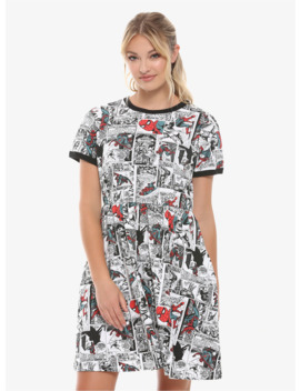 Marvel Spider Man Comic Book Dress by Hot Topic