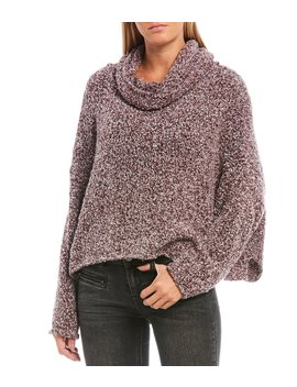 Bff Cowl Neck Soft Knit Sweater by Free People