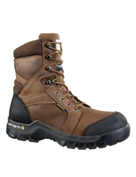 Rugged Flex® 8 Inch Insulated Composite Toe Work Boot by Carhartt