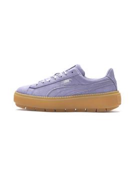 Platform Trace Emboss Women's Sneakers by Puma