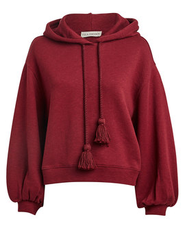 Mel Cotton Oversized Hoodie by Ulla Johnson