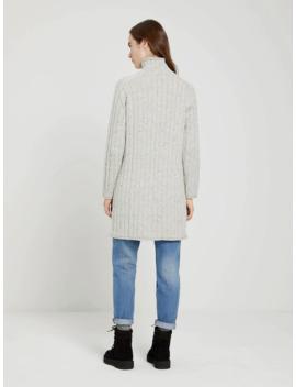 The Mockneck Sweater Dress In Light Beige Heather by Frank & Oak