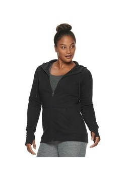 Women's Tek Gear® Fleece Zip Up Hoodie by Tek Gear