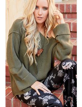 Dumont Bell Sleeve Sweater by Three Bird Nest
