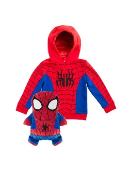 Marvel® 2018 Spiderman Stuffed Animal Hoodie by Cubcoats