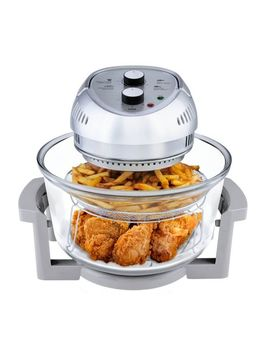 Big Boss 1300 Watt Oil Less Air Fryer With 50 Plus Recipe Book And Built In Timer   Silver by Big Boss