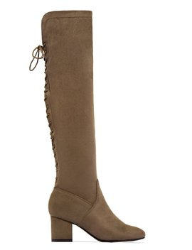 Downtown Girl   Taupe by Miss Lola